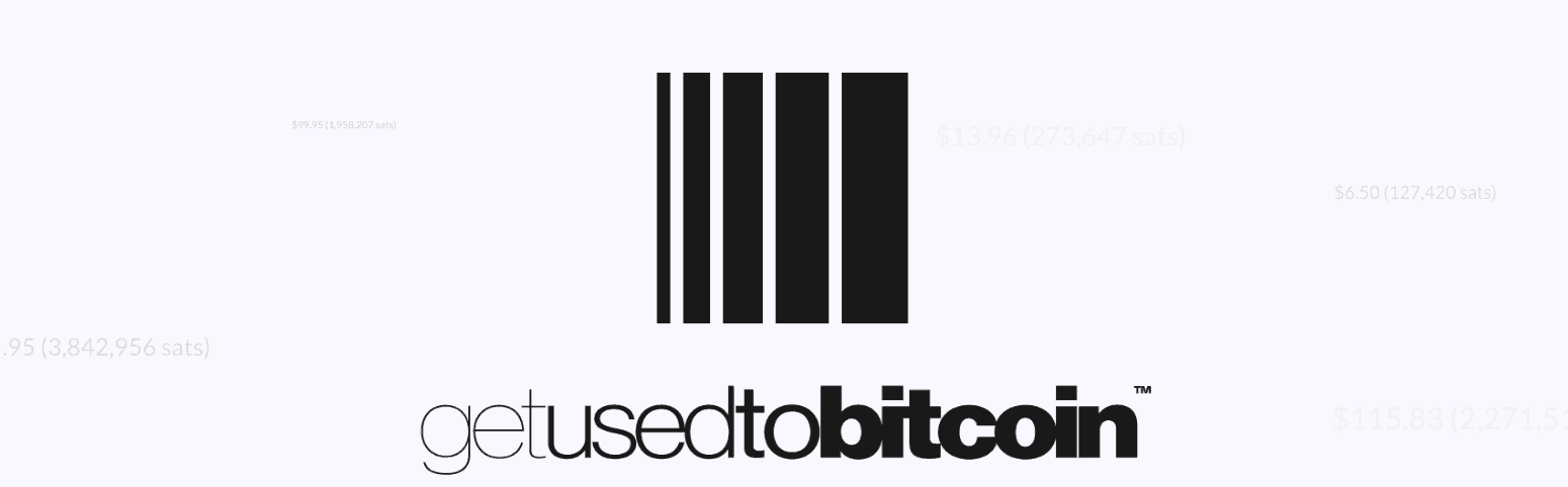 Getusedtobitcoin