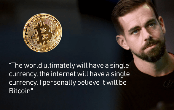 Bitcoin koers volgens Dorsey