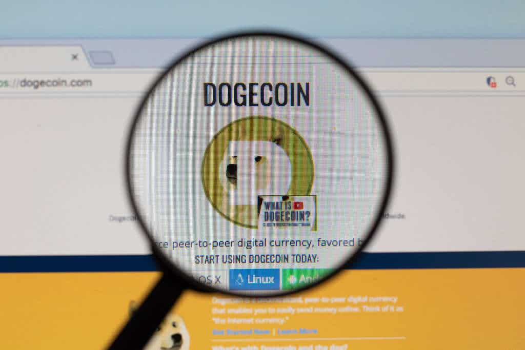 Dogecoin all time high