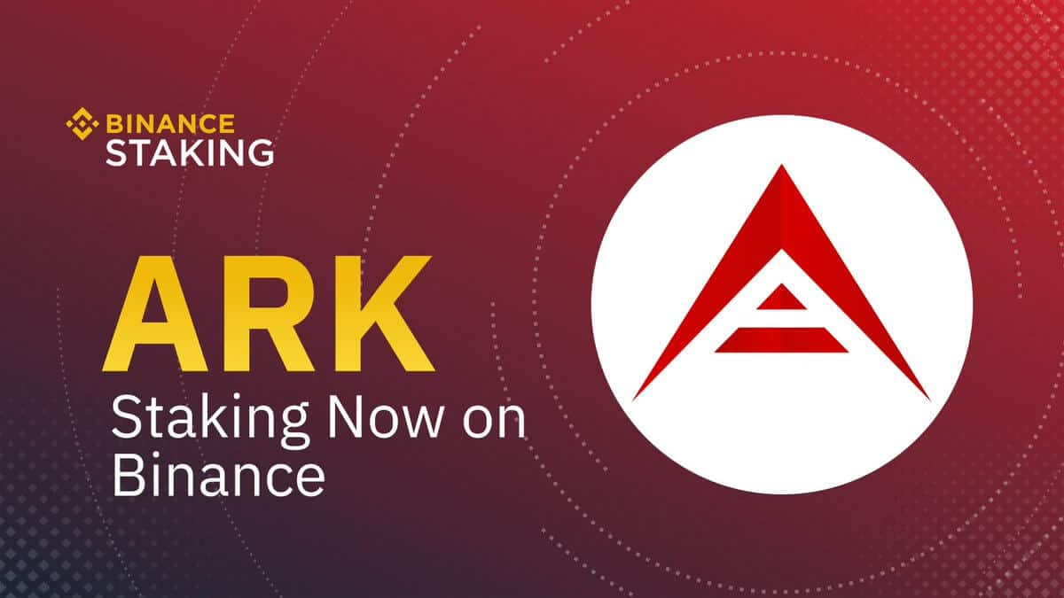 ark staking binance