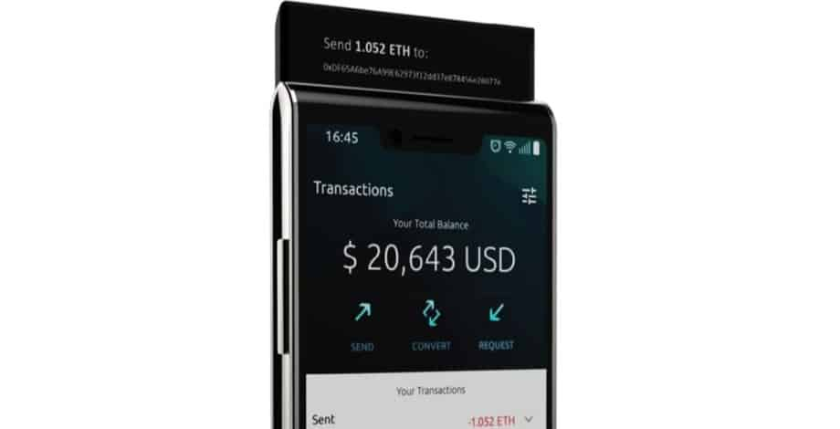 Sirin Labs Token - Finney smartphone
